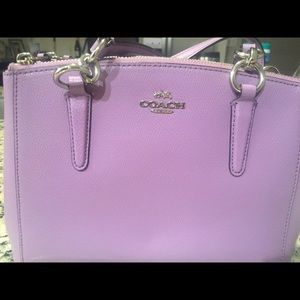 Lilac Coach Bag! Used only a few times!!
